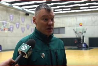 """Prieš rytdienos mačą Š.Jasikevičius turi problemų: trys žaidėjai """"ant klaustuko"""""""