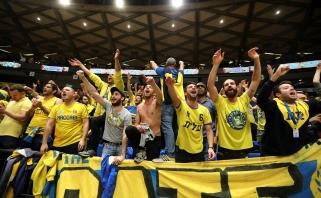 """""""Maccabi"""" nukovė Eurolygos lyderius"""