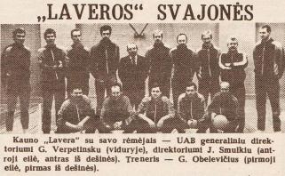 """LKL'25. V. Jurgilo metimas, užbaigęs įsimintiną """"Laveros"""" gyvavimą"""
