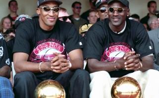 """""""Bulls"""" legenda S.Pippenas papasakojo apie atleidimą iš komandos"""
