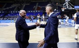 Jasikevičius patenkintas: iki pertraukos žaidėme geriausią sezono krepšinį