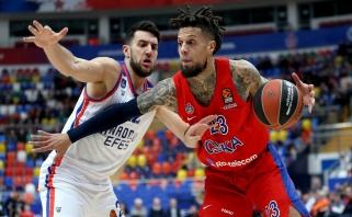"""""""Anadolu Efes"""" nepajėgė mesti rimtesnio iššūkio CSKA"""