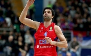 CSKA tik pačioje rungtynių pabaigoje palaužė kovingus baskus