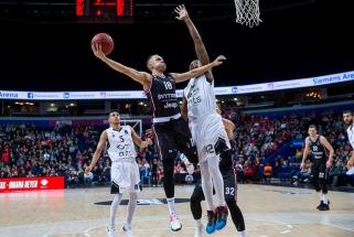 "Europos taurė: ""Partizan"" - ""Rytas"" 26:21 (vyksta II kėlinys)"