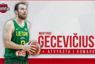 """""""Juventus"""" gretose – dukart Eurolygos čempionas M.Gecevičius"""