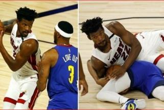 """""""Heat"""" lyderį teisėjai privertė pasikeisti marškinėlius, NBA debiutavo B.Bolas"""