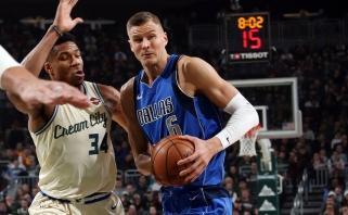 """K.Porzingio vedama """"Mavericks"""" nutraukė įspūdingą NBA lyderių seriją (rezultatai)"""
