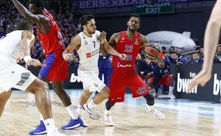 Eurolygos lyderių dvikovoje - CSKA pergalė svečiuose