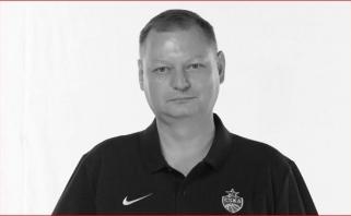 CSKA gedi: nuo koronaviruso mirė komandos gydytojas