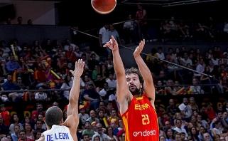 Ispanijos rinktinė prieš išvyką į Kiniją sirgaliams padovanojo įspūdingą pergalę