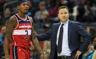 """""""Wizards"""" strategas: Bealas - vienas geriausių NBA žaidėjų ir nusipelnė """"Visų žvaigždžių"""" rungtynių"""