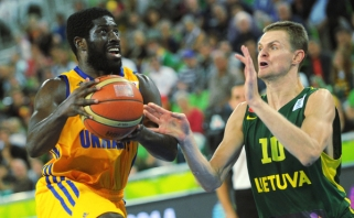 Ukrainos rinktinei Europos čempionate nepadės natūralizuotas amerikietis