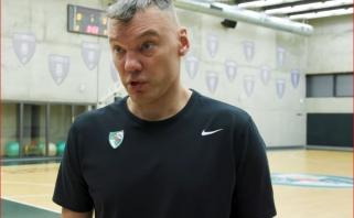 """Prieš kelionę į Maskvą Š.Jasikevičius paaiškino, kodėl dar vieno naujoko """"Žalgiryje"""" tikėtis neverta"""