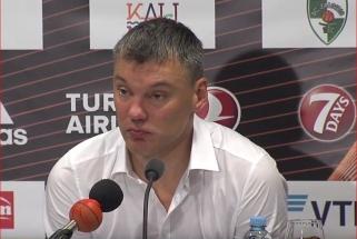 Š.Jasikevičius: kartais esame raiteliai be galvos
