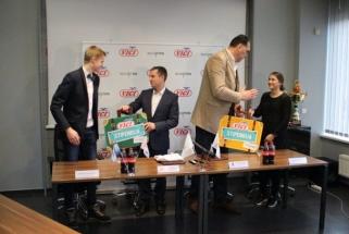 Pagrindinė LKF rėmėja skatins ir talentingiausius jaunuolius