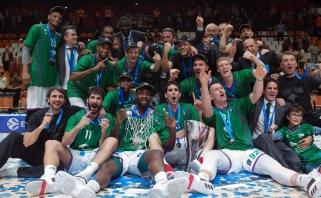 """Neįtikėtiną spurtą surengusi """"Unicaja"""" laimėjo Europos taurę bei žais Eurolygoje"""