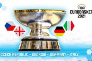 """Paskelbti """"Eurobasket 2021"""" šeimininkai"""