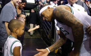"""NBA: rekordinis """"mažylio"""" šou, K.Duranto trigubas dublis ir įvykių puokštė Hjustone"""