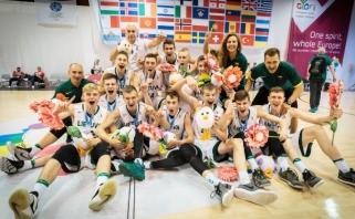 Šešiolikmečiai - Europos jaunimo olimpinio festivalio nugalėtojai, merginos - penktos
