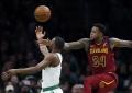 """""""Cavaliers"""" žaidėjai per rungtynes su """"Celtics"""" prarado daugiau kamuolių nei atliko tikslių metimų"""