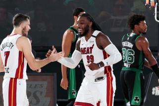 """""""Heat"""" po pertraukos panaikino 17 taškų atsilikimą ir padidino persvarą konferencijos finale"""