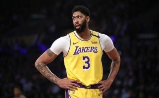 """A.Davisas oficialiai atsisakė kontrakto pratęsimo su """"Lakers"""" opcijos"""