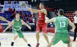 """Fantastiškas Kalnietis spindėjo ne vien perdavimais, o """"Lokomotiv"""" laimėjo Rusijos grandų mūšį"""