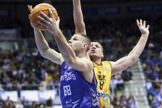 Solidaus J.Mačiulio žaidimo nepakako - AEK patyrė trečią nesėkmę iš eilės