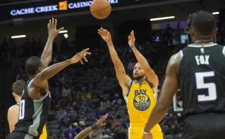Curry taupyklėje – dar pora pasiekimų NBA istorijoje