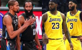 """Daugumos NBA klubų GM favoritais laiko """"Nets"""", pernai dar daugiau įvardijo """"Lakers"""""""