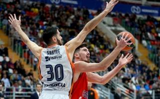 CSKA nepaliko vilčių Ispanijos čempionams