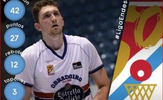 Ispaniją sudrebinęs Birutis: buvo malonu vėl mėgautis mylimu sportu