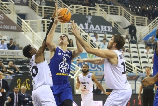 """""""Neptūnas"""" Salonikuose iškovojo triuškinančią pergalę FIBA Čempionų lygoje"""