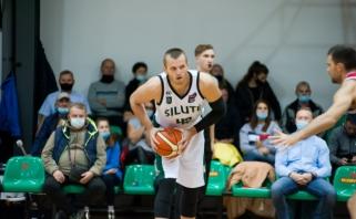 """Vasyliaus karjeros rungtynės nukalė """"Šilutei"""" dramatišką pergalę prieš """"Perlą"""" (rezultatai)"""