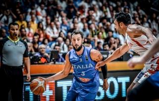 Italai paskutinėmis sekundėmis įveikė gruzinus ir žengė į aštuntfinalį