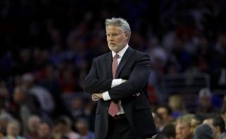 """B.Brownas paliks """"76ers"""" postą, jei šiąnakt bus pralaimėta """"Raptors"""""""