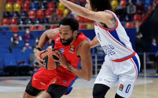 """Eurolygos finalininkų dvikovoje CSKA be gailesčio sudorojo """"Anadolu Efes"""""""