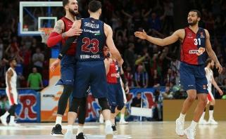Eurolyga turi vienvaldį lyderį: CSKA krito Vitorijoje