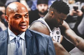 Ch.Barkley: Z.Williamsonas nėra storas, bet su tokiu svoriu jam negalima žaisti NBA