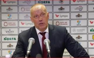 R.Kurtinaitis: pabaigoje pagrindiniai žaidėjai pavargo (konferencijos video)
