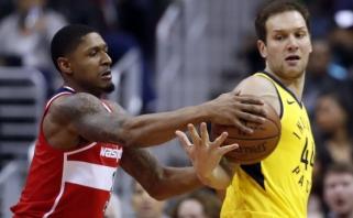 """Be D.Sabonio žaidę """"Pacers"""" prarado iškart dvi pozicijas (rezultatai)"""