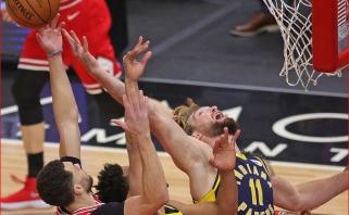 """Įspūdingą sezono startą paaiškinęs Sabonis pagyrė naująjį """"Pacers"""" trenerį"""