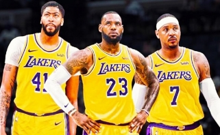 """C.Anthony gali baigti karjerą """"Knicks"""" arba """"Lakers"""""""