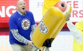 """Ballmeris: """"Clippers"""" – nebe miesto nevykėliai, """"Lakers"""" gerbėjams tai nepatinka"""