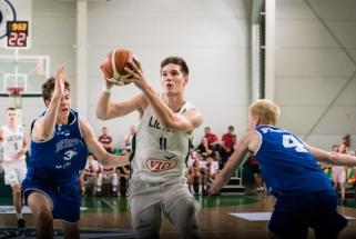 Jauniai triuškinančia pergale pradėjo Baltijos taurės turnyrą