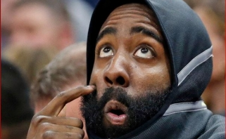 """Hardenas tebenori palikti """"Rockets"""", tačiau žada būti profesionalus ir palaukti mainų"""