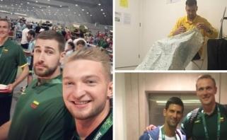 """Nuotykiai Rio: R.Javtoko kaimynas - superžvaigždė, australams nepatinka """"barakas"""""""