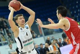 """Jau trečias buvęs """"Nižnij Novgorod"""" komandos žaidėjas persikėlė į Krasnodarą"""