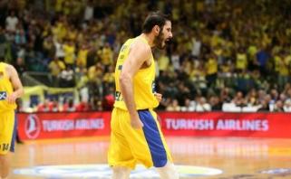 """Krepšininkai apskundė algų nemokančią """"Maccabi"""""""