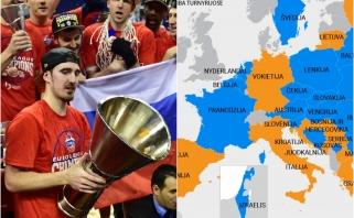 STRAIPSNIS: Anšliusas Europos krepšinyje: kaip buvo perdalintos įtakos zonos